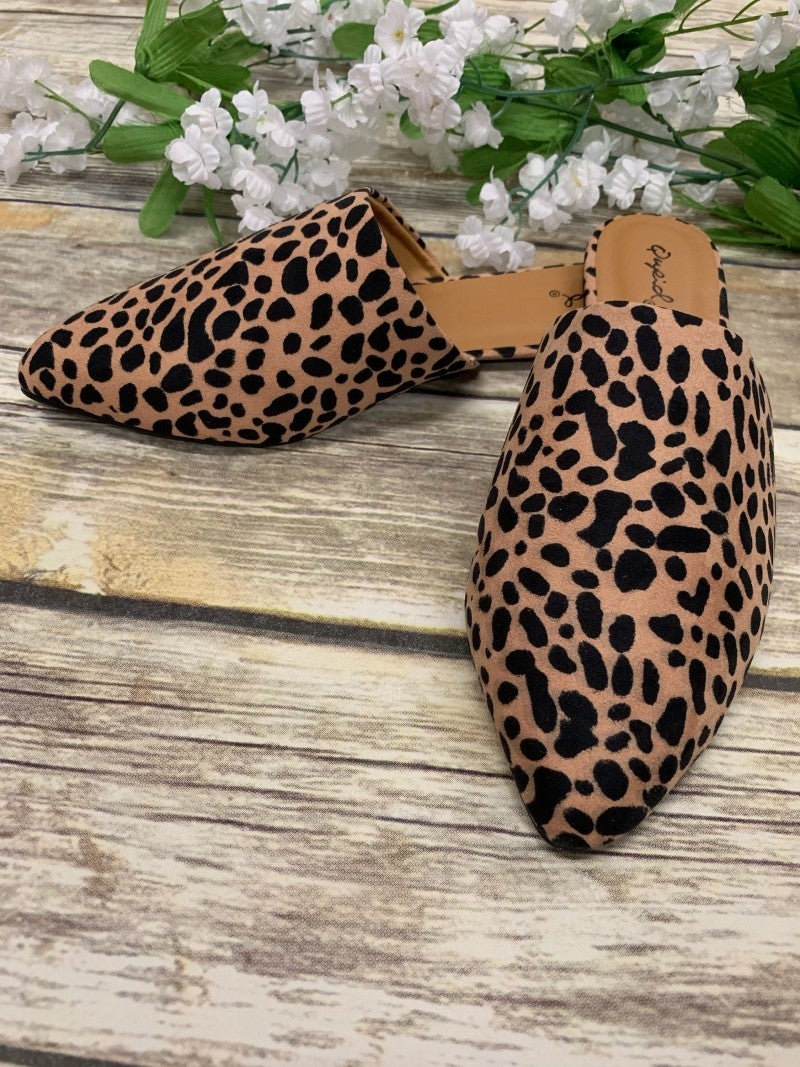 Sam's Favorite Leopard Mules - Sizes 6-10