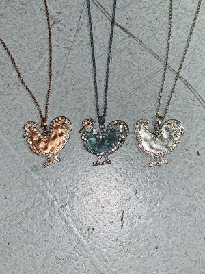 Barnyard Animals Super Cute Necklace with Bling