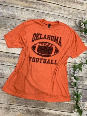 Oklahoma Football Graphic Tee -Multiple Colors- Sizes 4-20***PRE-ORDER***