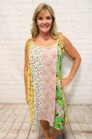 Summer Mix & Match Floral Print Dress - Sizes 4-20