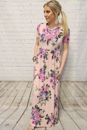 Mine Forever Floral Maxi Dress In Multiple Colors- Sizes 4-10