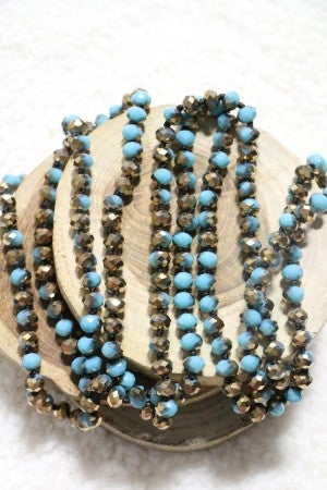 Point Of Perfection Beaded Necklace in Rodeo