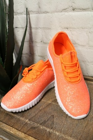 Most Wonderful Life Glitter Sneakers in Multiple Colors
