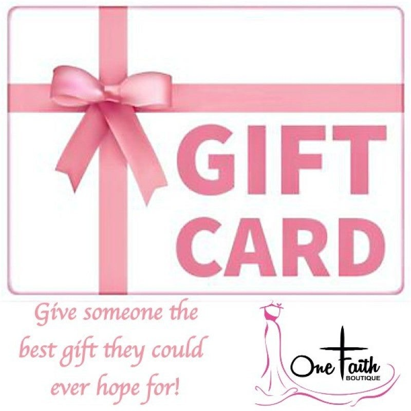 One Faith Boutique Gift Card