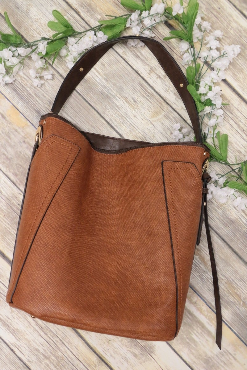 Bring It All Vegan Leather Bag in Multiple Colors
