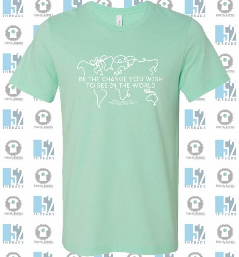 "Cassidy's Fundraiser ""Be The Change"" Shirt Sizes S-2X In Multiple Colors"