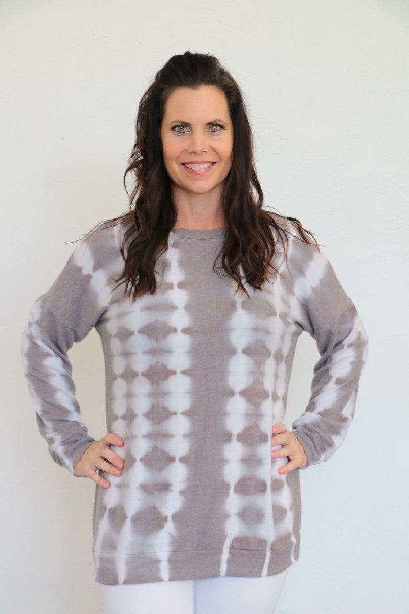 Ready To Cuddle Tie-Dye Top - Sizes 4-10