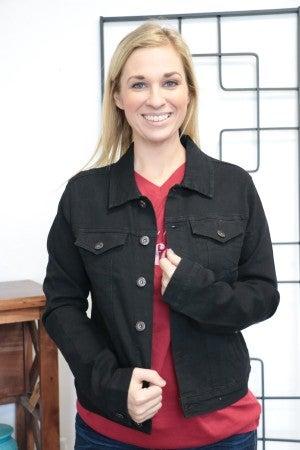 Everyday Wear Black Denim Jacket - Sizes 4-12