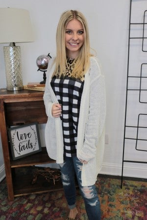 Everything Beautiful Distressed Cardigan in Multiple Colors-Sizes 10-18