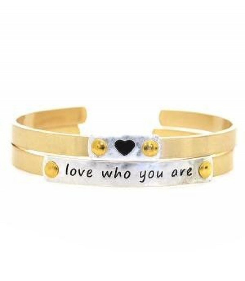 Love Who You Are Bracelet