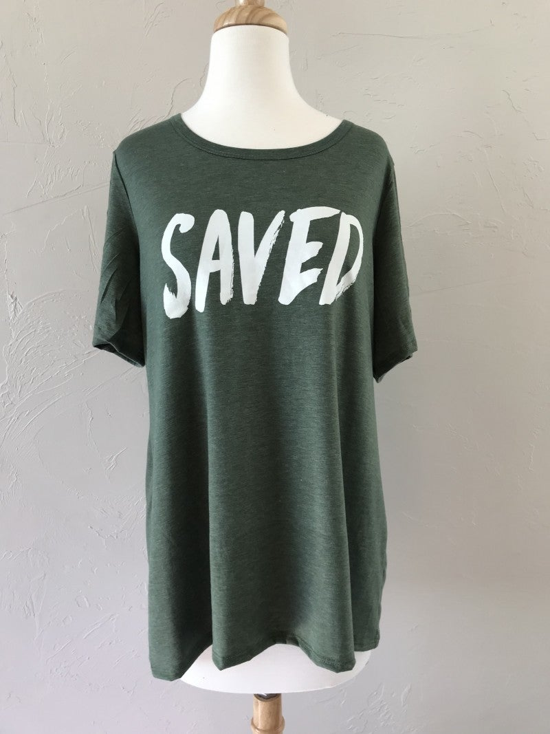 Saved Graphic Tee ~ Sizes 4-20