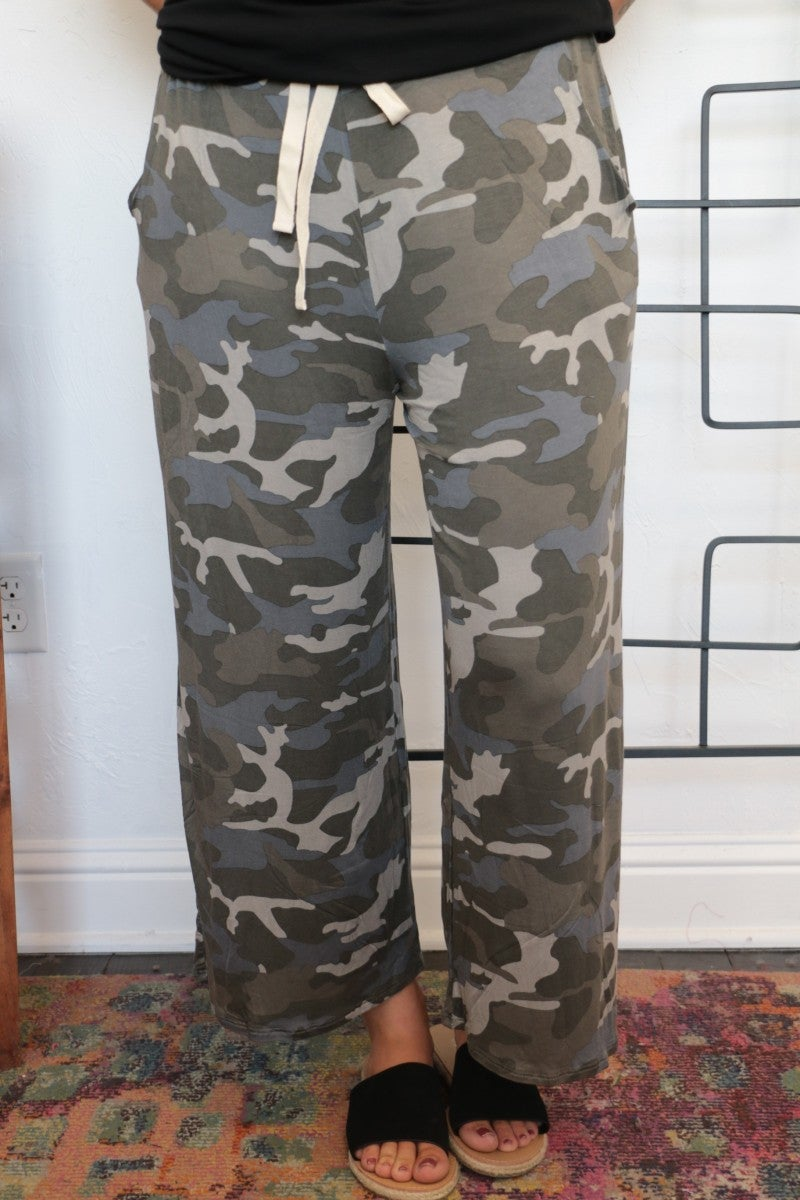 Hidden In Plain Sight Camo Lounge Pants - Sizes 4-20