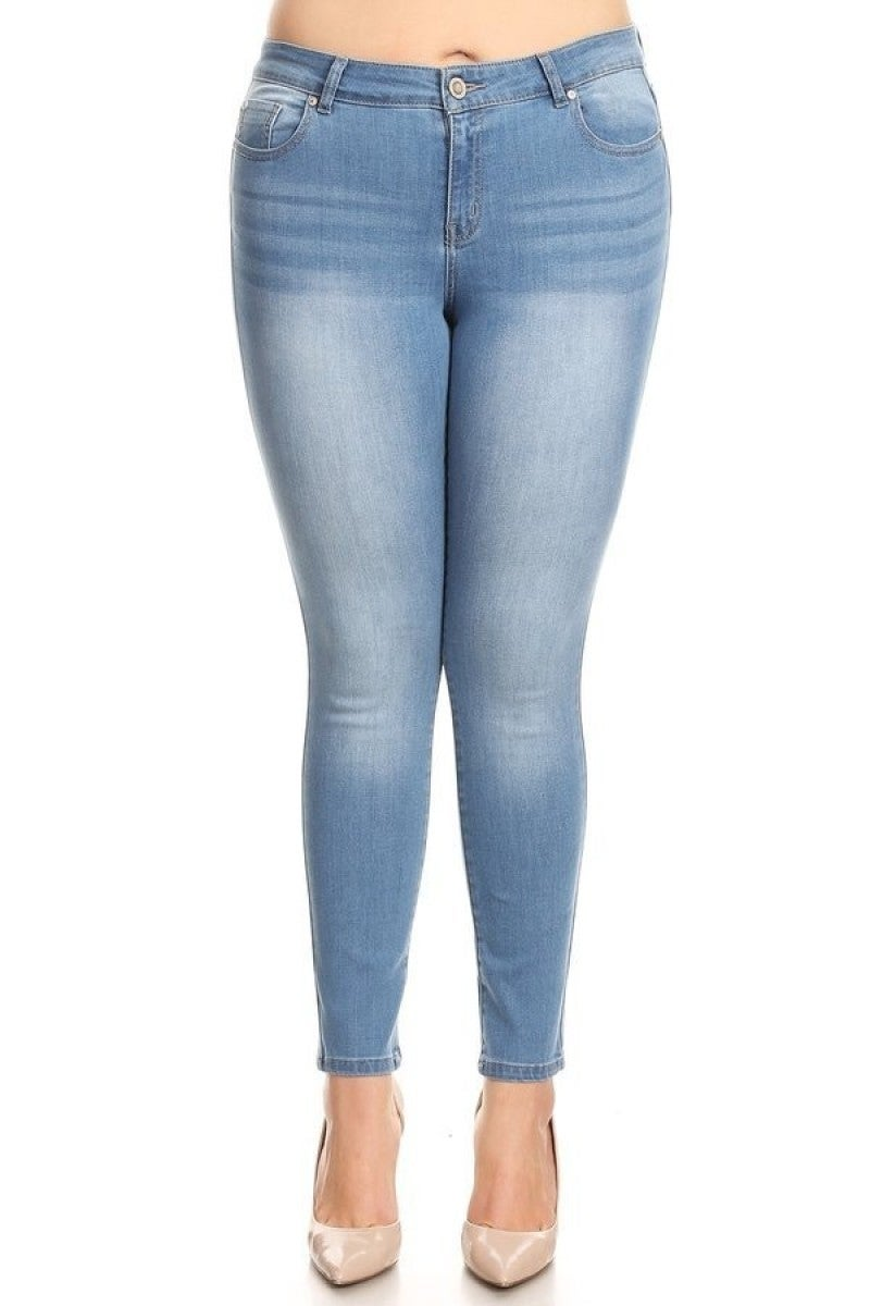 The Hazel Stretchy Skinny Jeans - Sizes 12-20