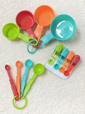 Summertime Happiness Colorful Kitchen Utensil Set of 3