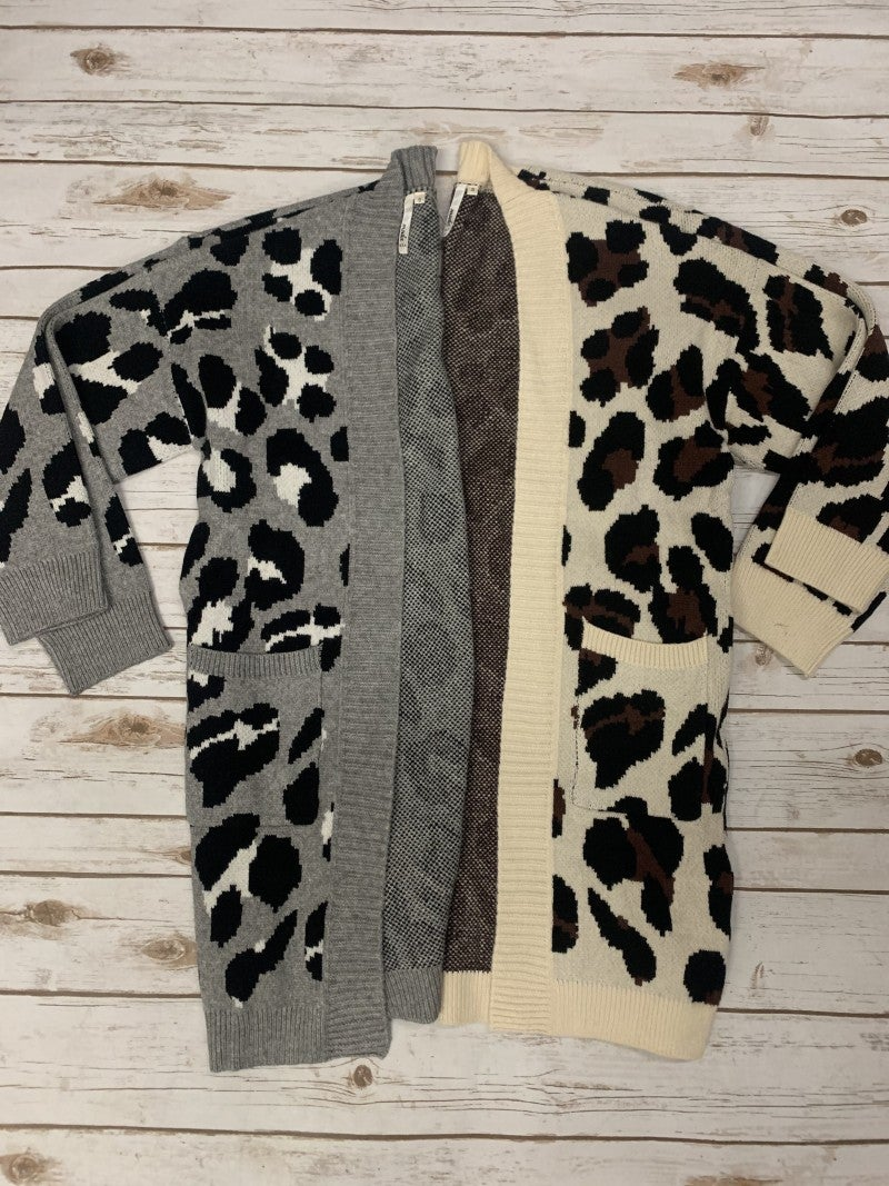The Future Is Your Leopard Cardigan - Multiple Colors - Sizes 4-18