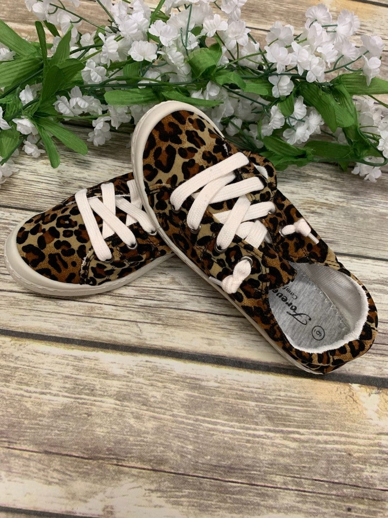 Follow Me There Leopard Sneakers