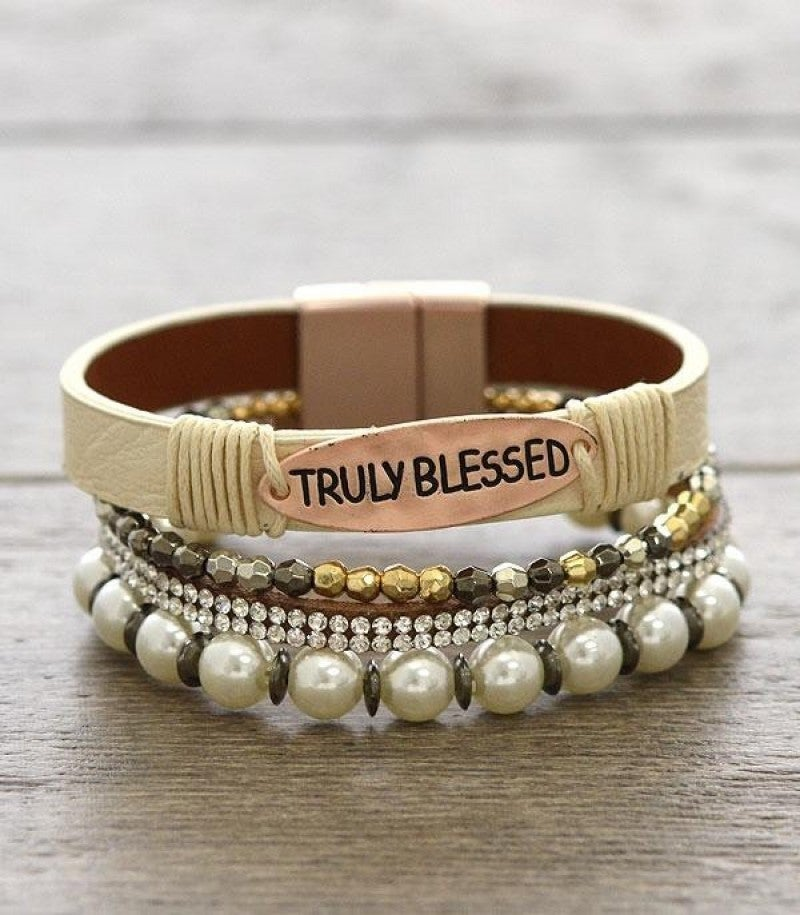 Truly Blessed Layered Bracelet