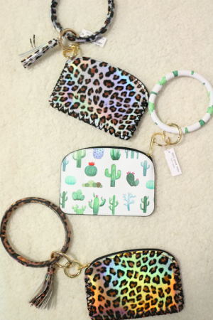 Dripping in Sass Wallet Keyring in Multiple Colors