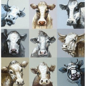It's A Heifer Party Canvas Oil Painting