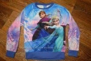 FROZEN ELSA AND ANNA FUZZY pullover (dark blue)