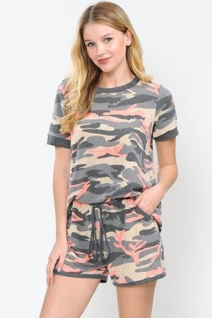 NOW N FOREVER CAMO SHORTS