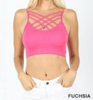 ZENANA OUTFITTERS WEAVE PADDED BRALETTE