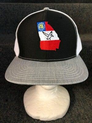 MEN'S WHITE/BLACK/GREY STATE OF GA DUCK HAT