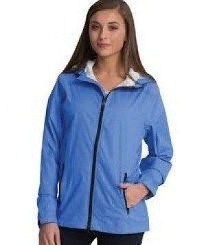 CHARLES RIVER PERIWINKLE RAINCOAT