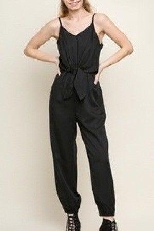 umgee black jumpsuit