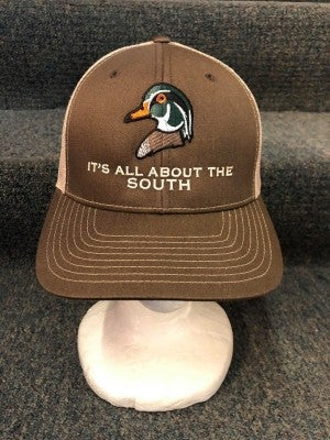 MEN'S TAN/BROWN 'ITS ALL ABOUT THE SOUTH' HAT