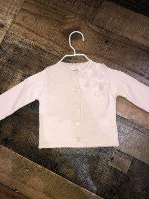mudpie pink button up sweater