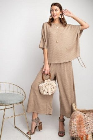 EASEL TEXTURED and  SOFT FLOWY PANTS