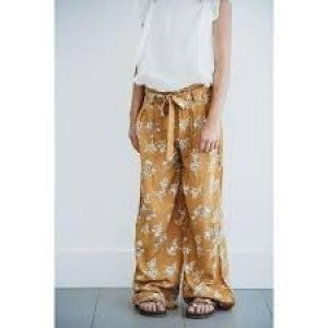 PEYTON BRE FLOWY PANTS WITH TIE (4 COLORS)