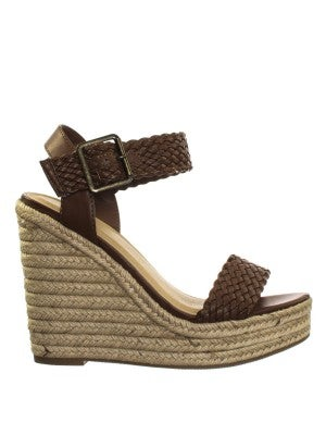 D BROWN WEDGE *Final Sale*