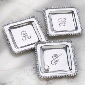 Silver Initial Trays