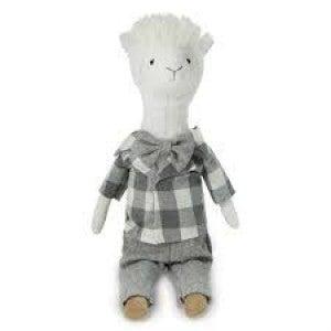 MUDPIE Grey Lama Doll