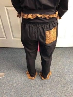 MSC LEOPARD LOUNGE PANTS