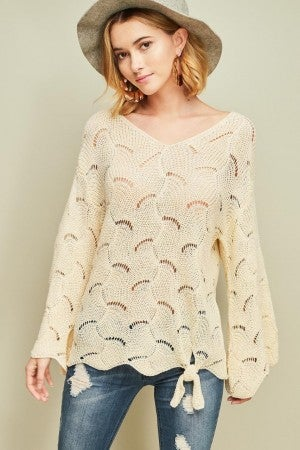 LIGHTWEIGHT KNIT TOP (2 COLORS)