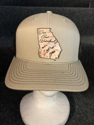 MEN'S BROWN/TAN ECW STATE OF GA DUCK HAT