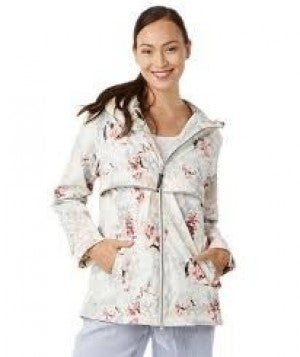 CHARLES RIVER FLORAL RAINCOAT