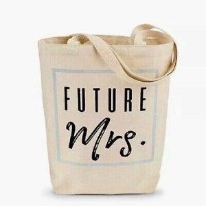 """Mudpie """"Future Mrs."""" Tote Bag"""