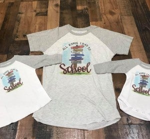 All Roads Lead To (High Schools) Tee