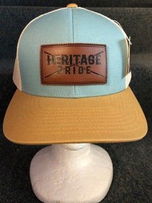 "MEN'S TAN/BLUE/GOLD ""HERITAGE PRIDE"" HAT"