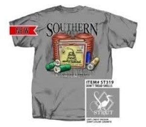 MEN'S  SOUTHERN STRUT DON'T TREAD ON ME TSHIRT