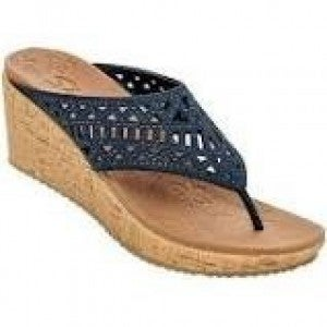 SKECHER WEDGE SUMMER VISIT (2 COLORS)