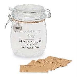 MUDPIE WEDDING WISH JAR SET