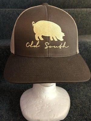 MEN'S TAN/BROWN W/ PIG HAT