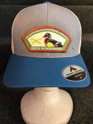 MEN'S TAN/GREY/BLUE DDSA DUCK HAT
