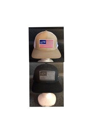 MEN'S ECW AMERICAN FLAG HAT