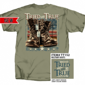 MEN'S TRIED AND TRUE OLIVE GREEN ARMY BOOTS